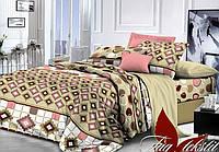 Полуторный комплект постельного белья TAG поликоттон 3D XHY2122