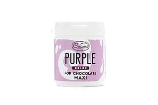 Пастообразный пищевой краситель Criamo для шоколада МАКСИ Пурпурный 160 грамм