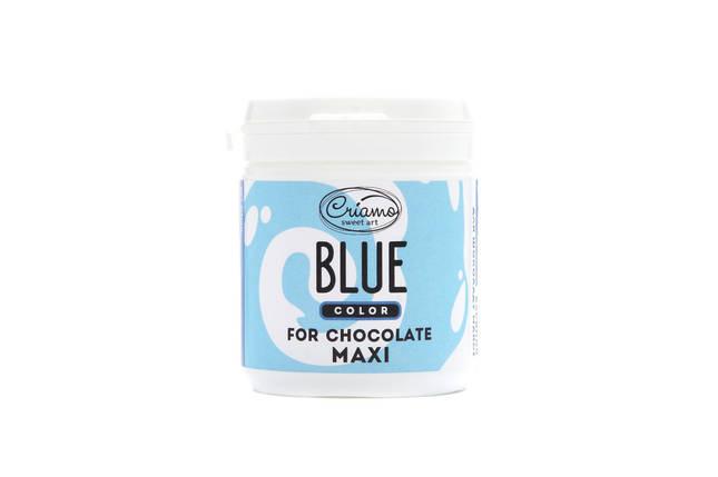 Пастообразный пищевой краситель Criamo для шоколада МАКСИ Голубой 160 грамм, фото 2