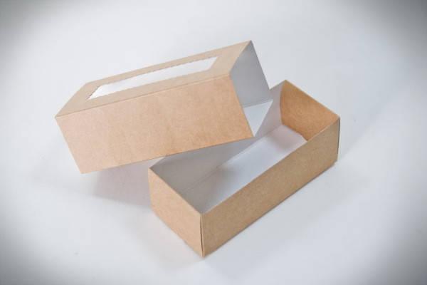 Коробки для макаронс коричневые (упаковка 3 шт.), фото 2