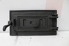 Зольные дверцы «Стиль 40» 330х180 Чугунная дверка для печи барбекю
