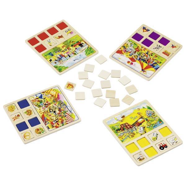 Настольная игра goki Лото Наш маленький город 56740