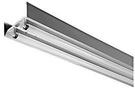 Светильник магистральный откр. LINE 3м (под LED лампу T8) 4x1500мм Белый УКРАИНА металл