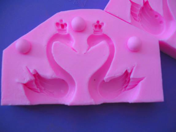 Молд кондитерский Лебеди 3D, фото 2