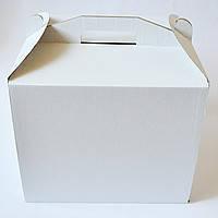 Картонная коробка для торта 3 штуки (250*250*150)