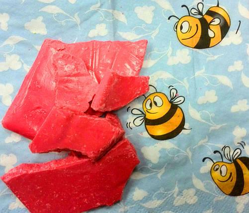 Шоколадная глазурь красная монолит ( 5 кг), фото 2