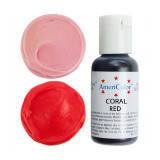 Краситель гелевый Americolor Кораллово - красный (Coral red), фото 2