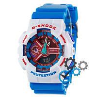 Casio G-Shock GA-110 White-Blue-Red