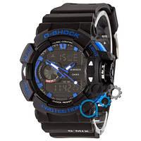 Casio G-Shock GA-400 Black-Blue