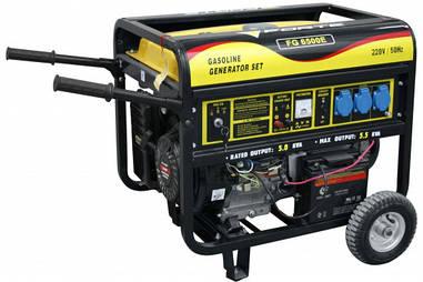 Генератор бензиновый 5 кВт однофазный Forte FG6500E