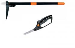 Инструмент для удаления сорняков + ножницы (139916)