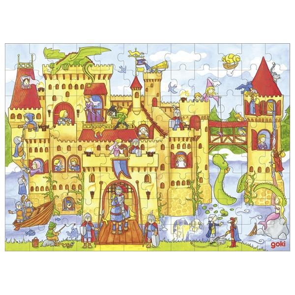 Пазл деревянный goki Рыцарский замок 57617G