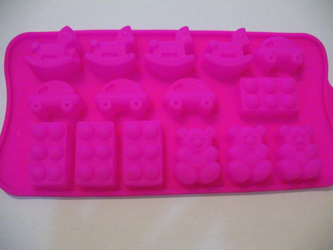 Форма силикон для конфет Детство