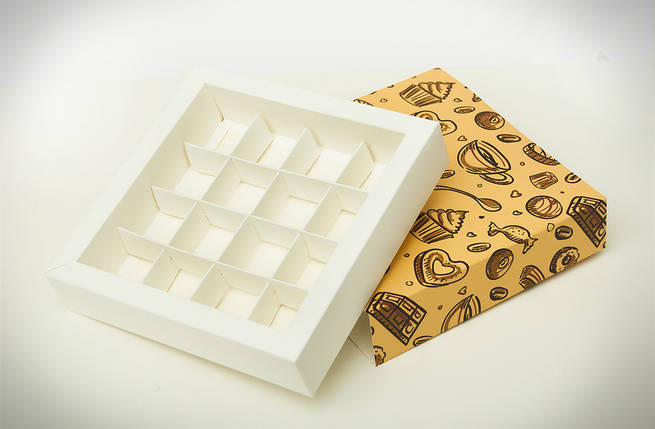 Коробки для конфет Светлая (Упаковка 3 шт.), фото 2
