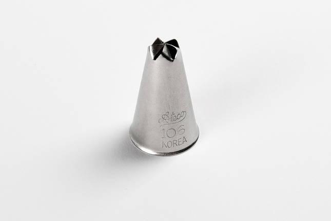 Насадка кондитерская Ateco метал. №106, фото 2