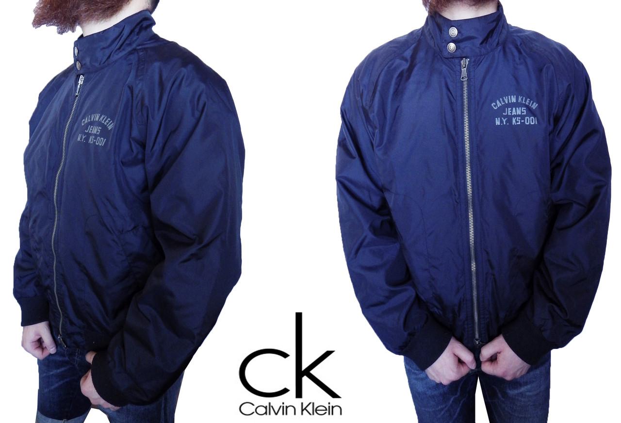 Куртка мужская Calvin Klein Оригинал р-р XL (сток, б/у) весна-осень, демисезонная на манжетах