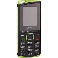 Мобільний телефон Sigma mobile Comfort 50-mini4 (black-green)