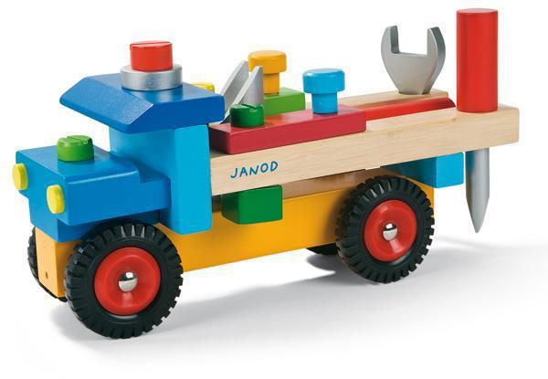 Игровой набор Janod Машинка с инструментами J05022