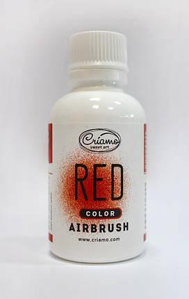 Краситель для аэрографа Criamo Красный 60 грамм, фото 2