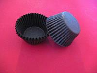 Тарталетки (капсулы) бумажные для кексов, капкейков Коричневые 40*28,5 мм