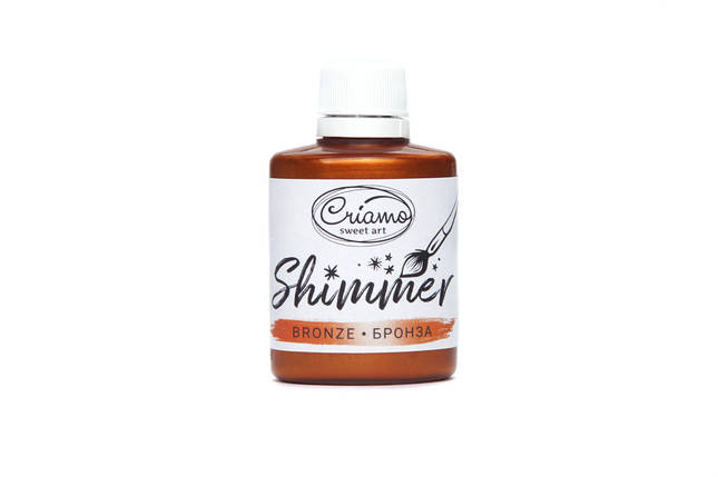 Краситель Criamo Shimmer Металик Бронза 30 грамм, фото 2