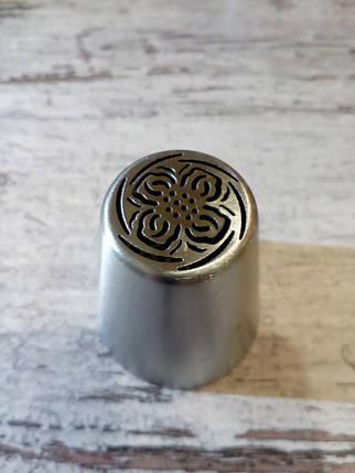 Насадка бесшовная кондитерская метал. №22, фото 2