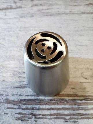 Насадка бесшовная кондитерская метал. Аленький цветочек 2, фото 2
