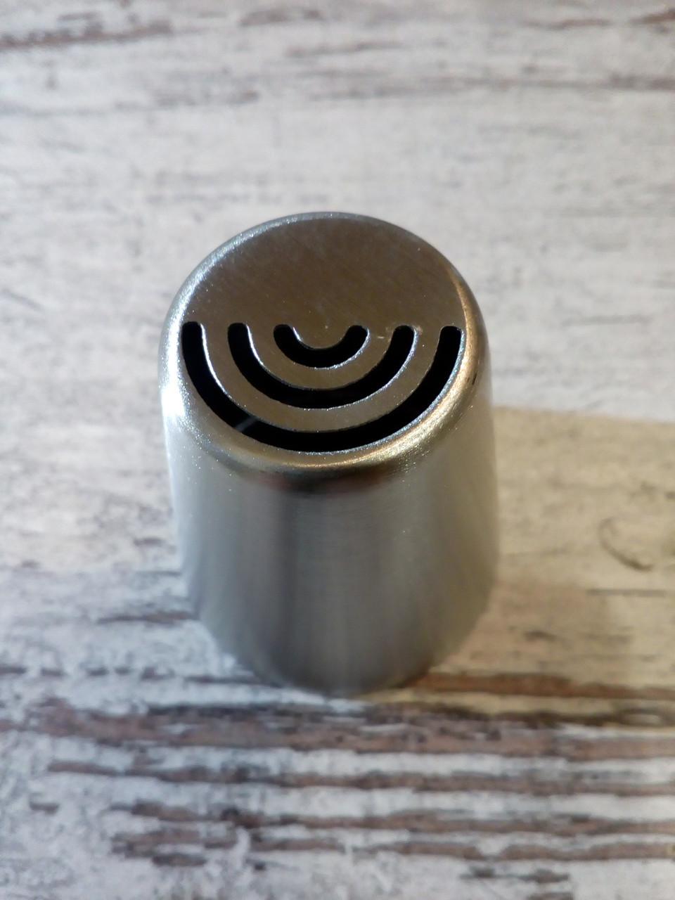 Насадка бесшовная кондитерская метал. Лепестки
