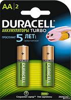 Аккумуляторы Duracell Turbo АА 2400mAh, 2 шт.