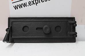 Зольные дверцы «Стиль» 450х170 Чугунная дверка для печи барбекю, фото 2