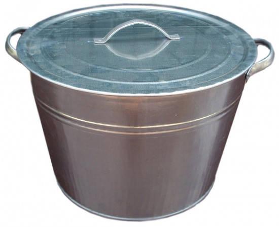 Арма Бак оцинкованный конусный  25 л, фото 2