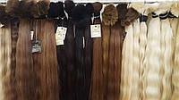 Волос славянский крашенный русый, блонд 50-55см