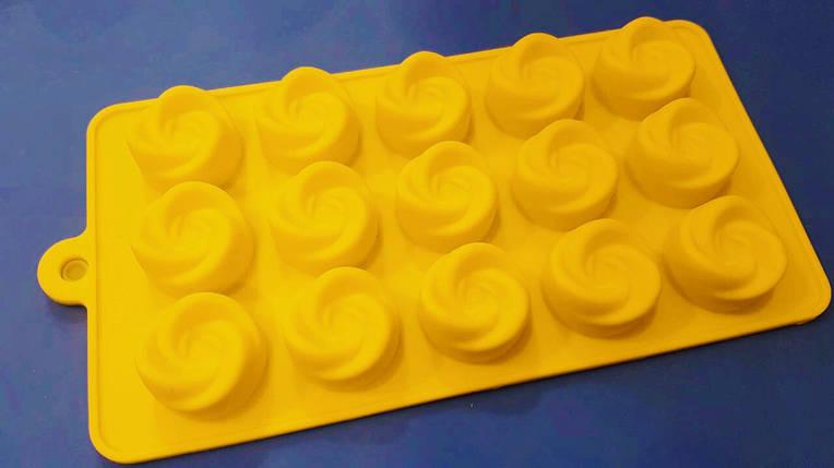 Форма силиконовая Мини Вихрь , фото 2