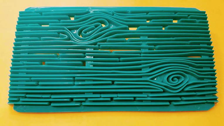 Пресс-шаблон для украшения торта Древесина, фото 2