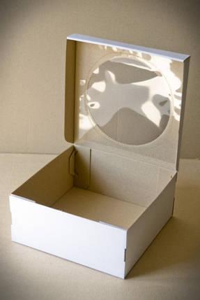Коробки для тортов, чизкейков, пирожных (Упаковка 3 шт.) 25х25х11см, фото 2