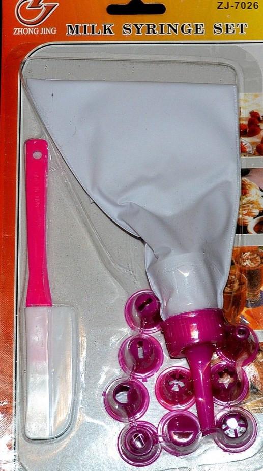 Кондитерский мешок с насадками