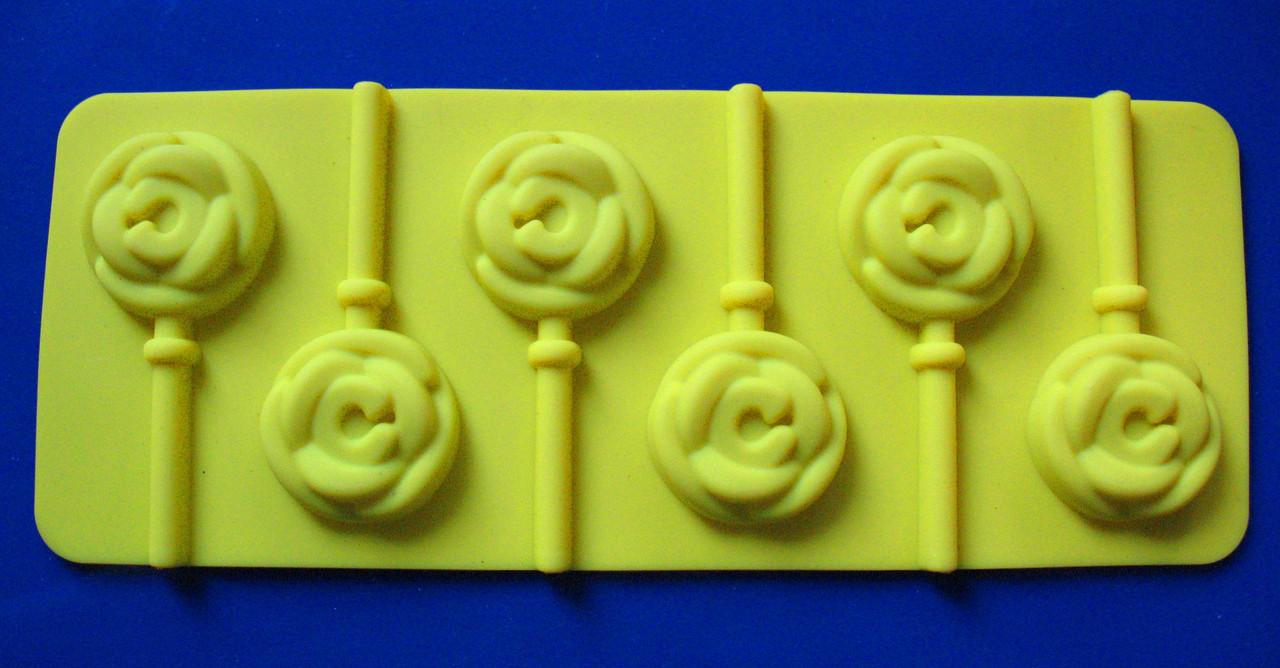 Форма силиконовая Розочки