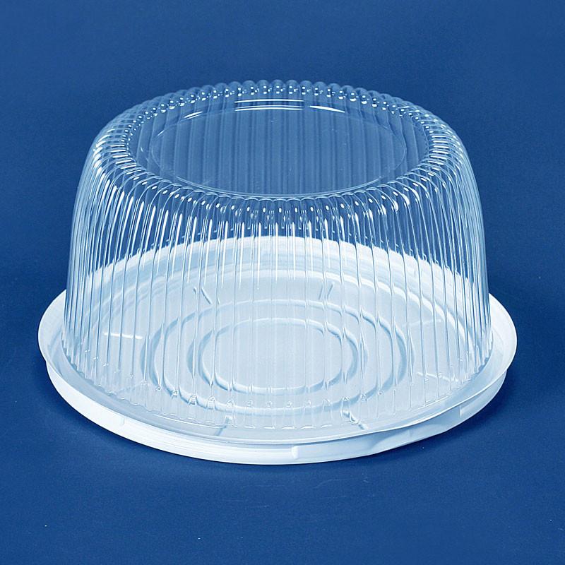 Пластиковая коробка для торта -10 штук (212)