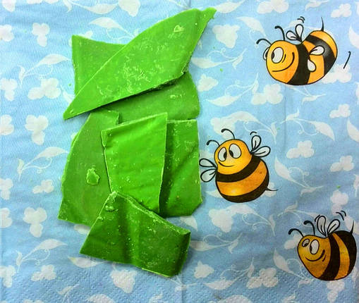 Шоколадная глазурь зеленый монолит (5 кг), фото 2