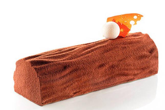 Силиконовый текстурный мат Кора дерева (Wood), фото 2