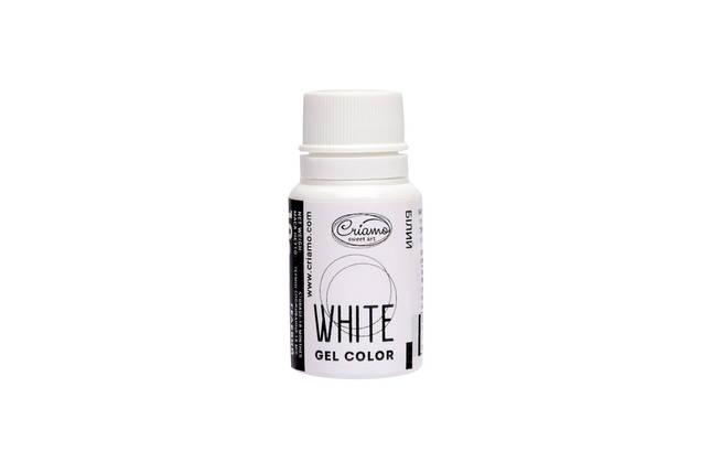 Гелевый краситель Criamo Белый 10 г., фото 2