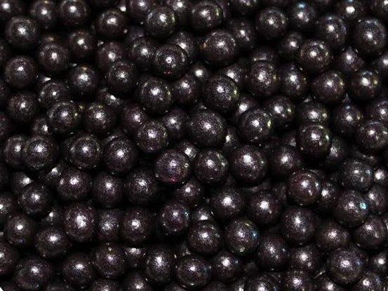 Посыпка шарики Черные 4 мм, 50 грамм