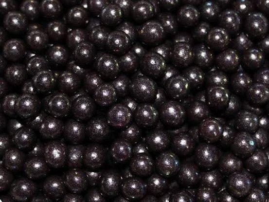 Посыпка шарики Черные 4 мм, 50 грамм, фото 2