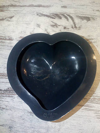Силиконовая Форма евродесертов Сердце, фото 2