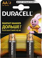 Батарейки Duracell AA, 2 шт.