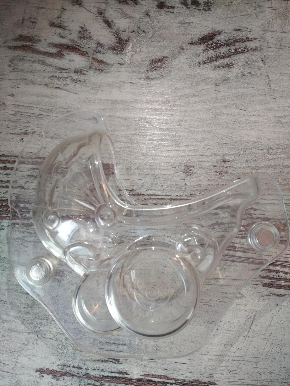 Форма для шоколада 3D коляска