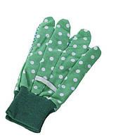 Перчатки садовые nic зеленые NIC535902