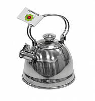 Игровой чайник со свистком nic металлический 11 см. NIC530355