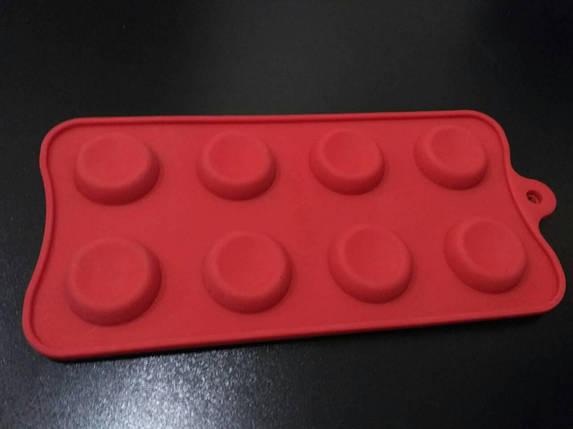 Форма силиконовая пуговицы 2, фото 2