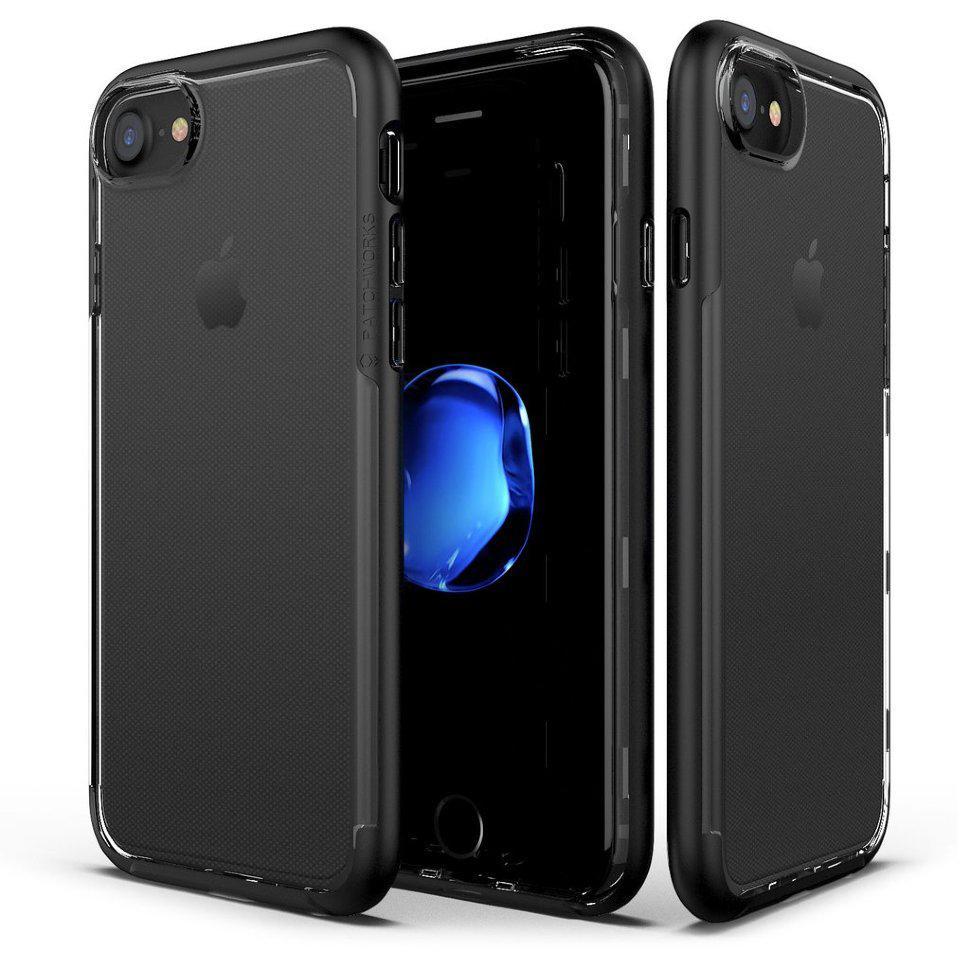 Накладка Patchworks Sentinel case для iPhone 7 Черный (STC002)